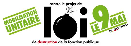 6759c9b17ca Projet de loi Fonction Publique   les très nombreux points de désaccord et  les horaires des manifestations du 9 mai en Nouvelle Aquitaine