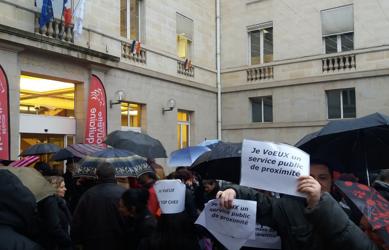 Mobilisatio à Limoges