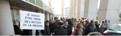 Mobilisation à Bordeaux